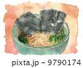 ラーメン_水彩 9790174