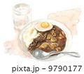 カレーライス_水彩 9790177