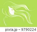 髪 毛 ヘアのイラスト 9790224