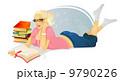 マンガ 漫画 女性のイラスト 9790226