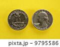 初代アメリカ大統領ジョージワシントン肖像のコイン 9795586