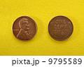 第16代アメリカ大統領エイブラハムリンカーン肖像のコイン 9795589