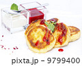 cheese cakes with jam and cream 9799400