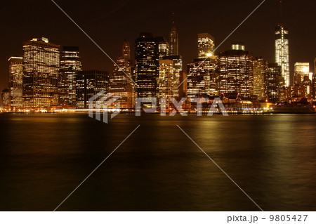 ニューヨーク ブルックリンからのマンハッタン 9805427