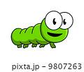 漫画 虫 芋虫のイラスト 9807263
