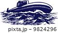 海軍 マリン 海のイラスト 9824296