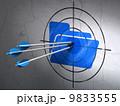 ビジネス ビンテージ イコンのイラスト 9833555
