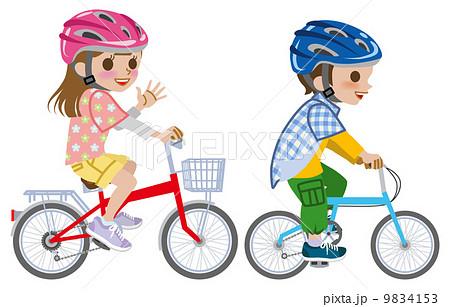 自転車/子供/ヘルメット 9834153