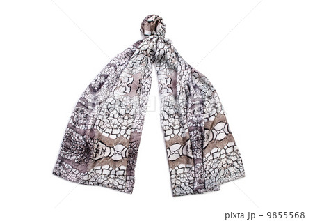 Scarf isolated on the white backgroundの写真素材 [9855568] - PIXTA