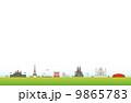 世界遺産の風景セット 9865783