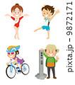 体操/自転車/登山 9872171