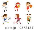 野球/ソフト/サッカー/バスケ/ラグビー 9872185