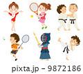 体操/テニス/バドミントン/柔道/空手 9872186