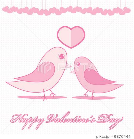 Valentines hearts. Vector illustration.のイラスト素材 [9876444] - PIXTA