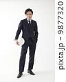 スーツでバレーボール 9877320