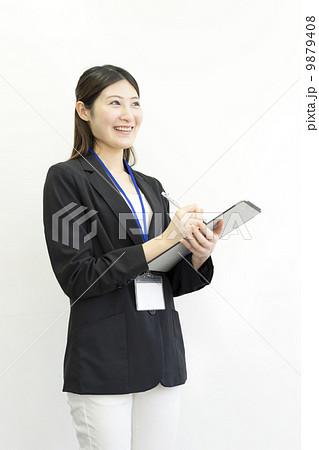 働くビジネスウーマン 9879408