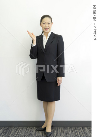 働くビジネスウーマン 9879984