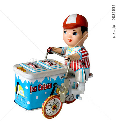 boy toy on a three wheelerの写真素材 [9882652] - PIXTA