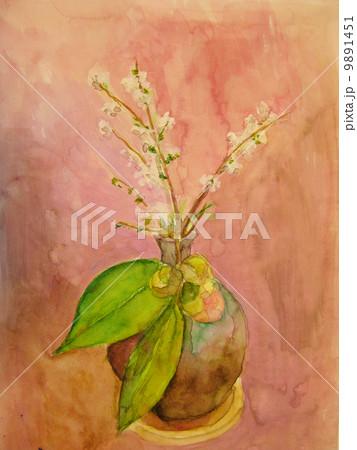 椿と花 9891451