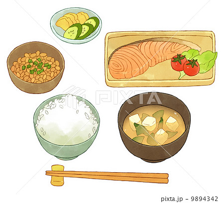 納豆 食品のイラスト素材 - PIXTA