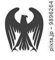 イーグル ワシ 鷲のイラスト 9896264