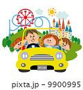 家族で遊園地 9900995