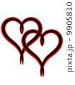 Valentine heart 9905810