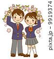 制服 入学 学生のイラスト 9919374