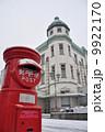 郵便ポスト 赤ポスト 丸ポストの写真 9922170