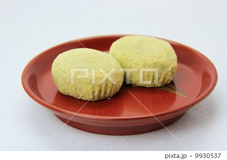 ウグイス餅の写真素材 [9930537] - PIXTA