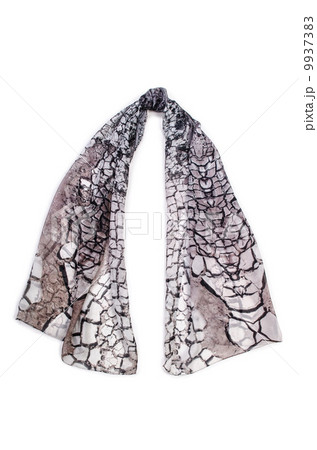 Scarf isolated on the white backgroundの写真素材 [9937383] - PIXTA