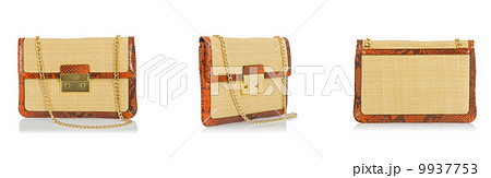 Woman bag isolated on the white backgroundの写真素材 [9937753] - PIXTA