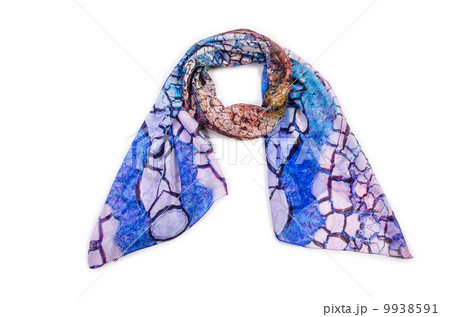 Scarf isolated on the white backgroundの写真素材 [9938591] - PIXTA