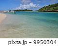 入り江 川平湾 海の写真 9950304
