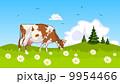 牛 動物 農業のイラスト 9954466