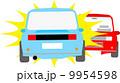 追突 ベクター 車のイラスト 9954598