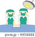 手術 外科医 医師のイラスト 9958888
