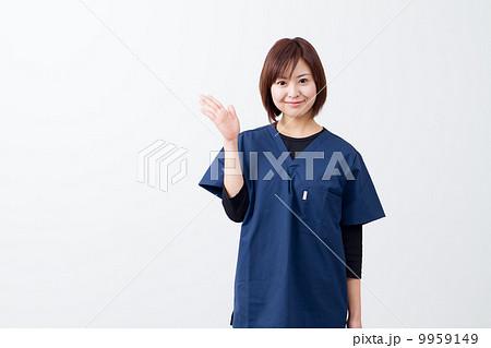 女医 手術衣 外科医 9959149