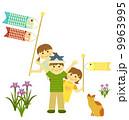 子供の日(白バック) 9963995