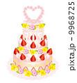 ウェディングケーキ 9968725