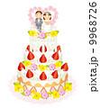 ウェディングケーキ 9968726
