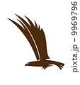 イーグル ワシ 鷲のイラスト 9969796
