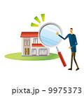 住まい探し 物件探し 住宅のイラスト 9975373