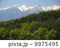 残雪 中央アルプス 森の写真 9975495