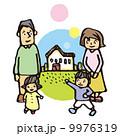 育児 子育て 家族のイラスト 9976319