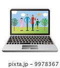 コンピューター 家族 家族写真 9978367