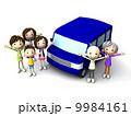 ドライブ バンザイ 三世代のイラスト 9984161