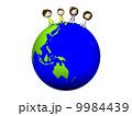 家族 人物 地球のイラスト 9984439