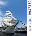 帆船 日本丸 船の写真 9987330