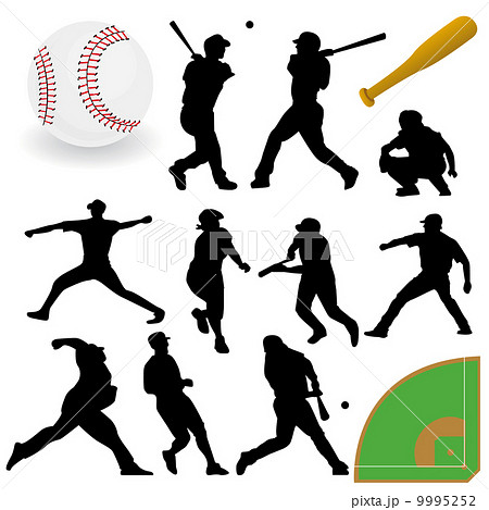 Baseball Players 9995252
